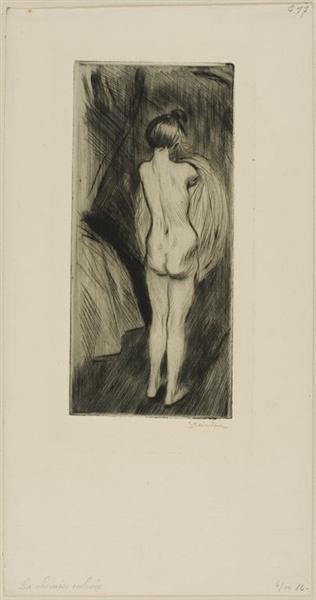 Femme Debout, 1902 - Theophile Steinlen