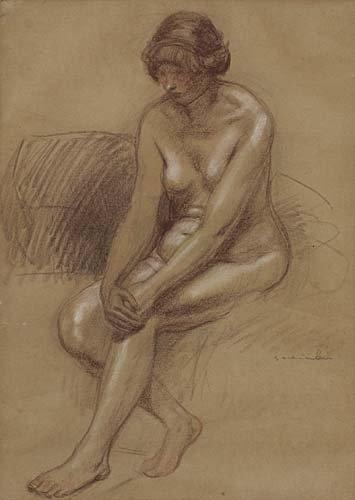 Femme Nue - Théophile Alexandre Steinlen