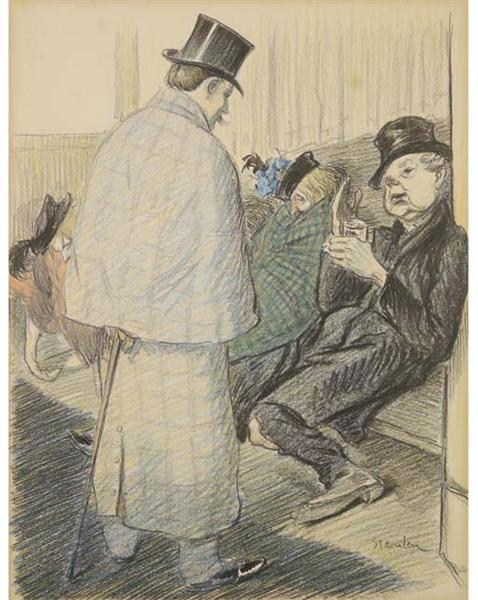 Gentleman - Theophile Steinlen