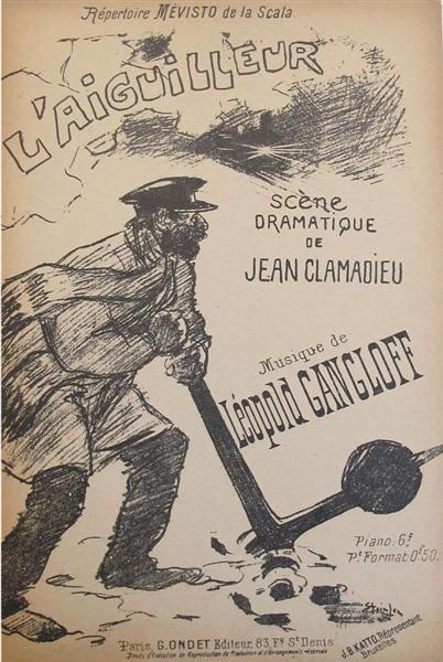L'Aiguilleur, 1892 - Theophile Steinlen