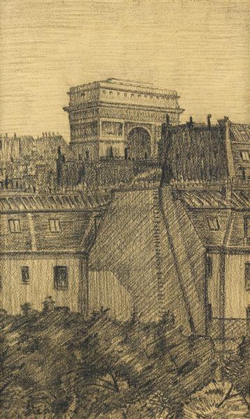 L'Arc de Triomphe - Theophile Steinlen