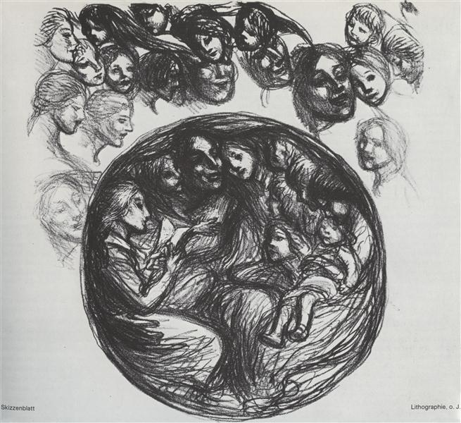 L'Orphelinat des Arts, 1915 - Theophile Steinlen