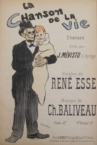 La Chanson De La Vie, 1894 - Theophile Steinlen