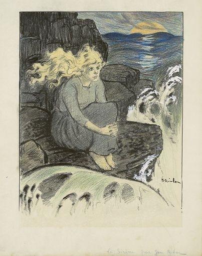 La Sirene - Théophile-Alexandre Steinlen