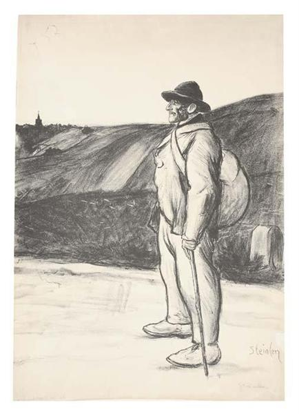 Le Chemineau, 1897 - Theophile Steinlen