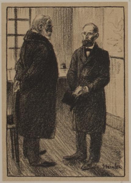 Le Directeur, 1907 - Theophile Steinlen