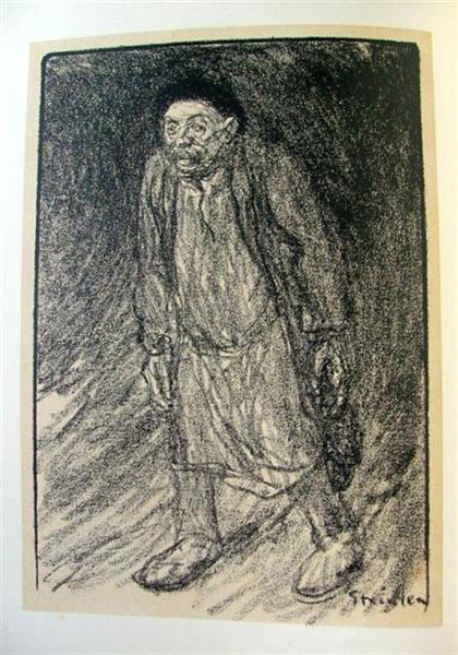 Le Houilleur, 1907 - Théophile-Alexandre Steinlen