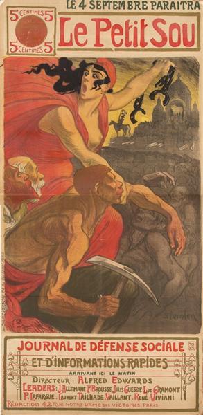 Le Petit Sou, 1900 - Theophile Steinlen