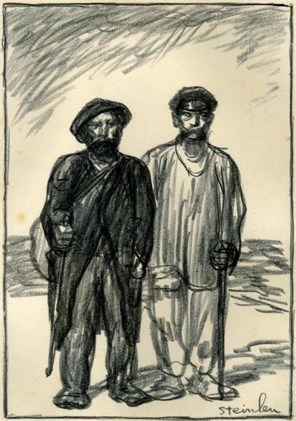 Les-Deux - Theophile Steinlen