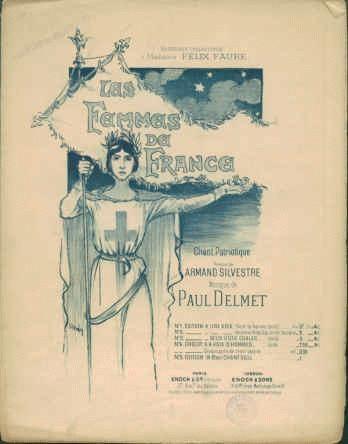 Les Femmes de France, 1895 - Theophile Steinlen