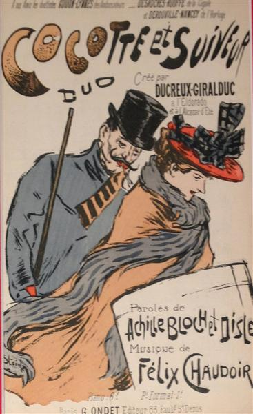 Les Suiveurs, 1893 - Theophile Steinlen