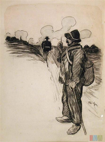 Marchand D'Crayon - Theophile Steinlen