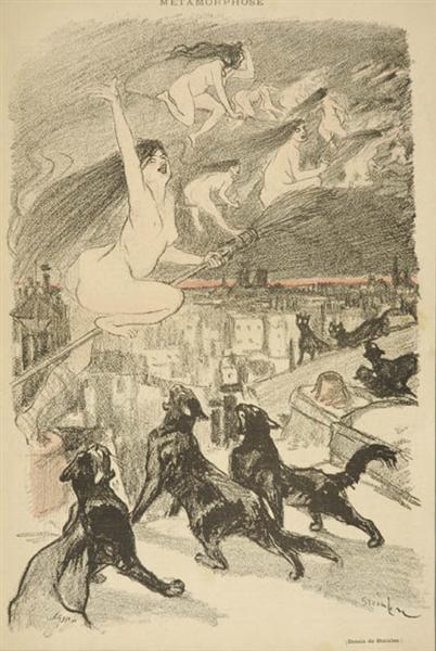 Metamorphose, 1893 - Theophile Steinlen