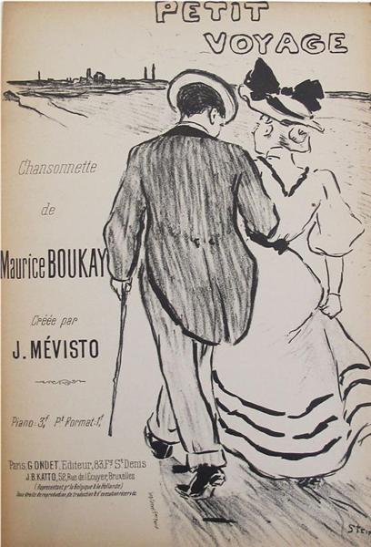 Petit Voyage, 1894 - Theophile Steinlen