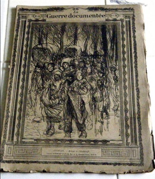 Retour de l'esclavage, 1917 - Theophile Steinlen