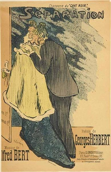 Separation, 1892 - Теофиль Стейнлен