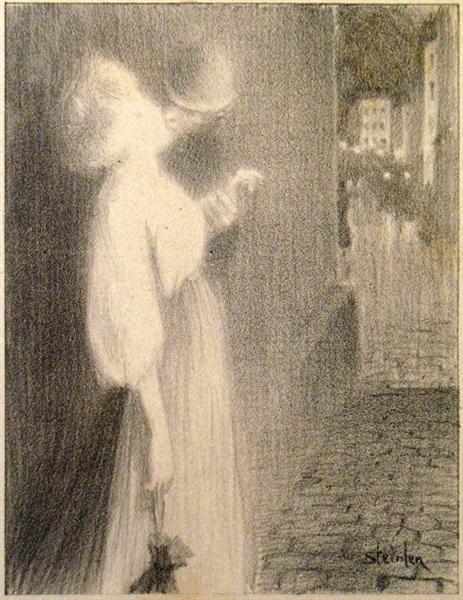 Tu M'Apparus, 1897 - Theophile Steinlen
