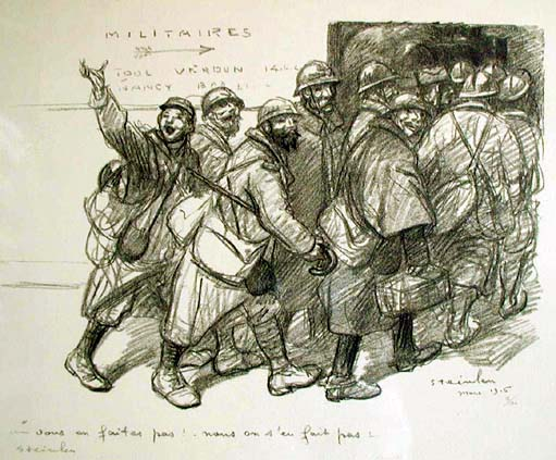 Vous, 1916 - Theophile Steinlen