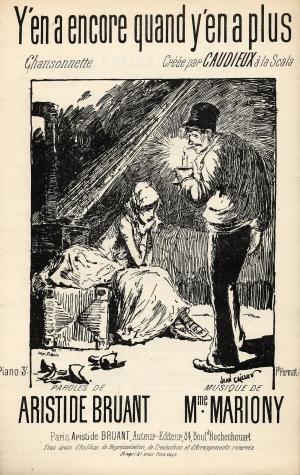 Y'En A Encore  Quand Y'En A Plus, 1889 - Théophile Alexandre Steinlen