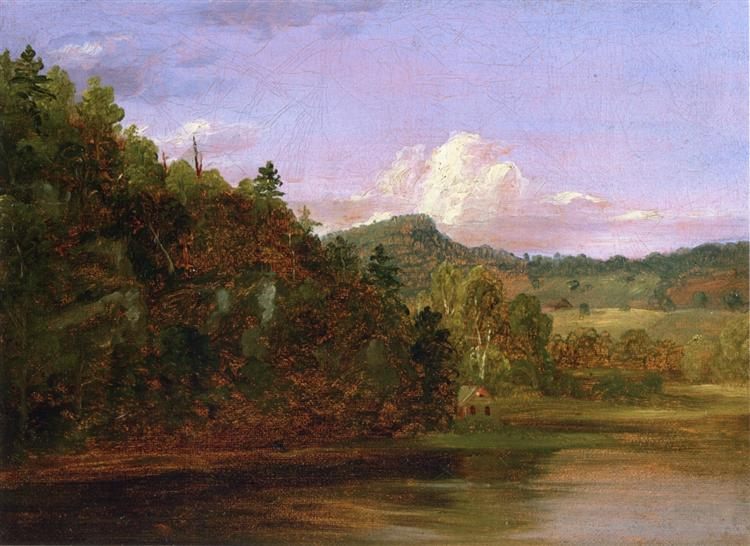 thomas cole essay on american scenery 1836 Two centuries ago thomas cole arrived on american shores,  but his  landscapes almost always strove for the arcadian, rather than the real  in 1836  cole wrote an essay on the american landscape, the same year that.