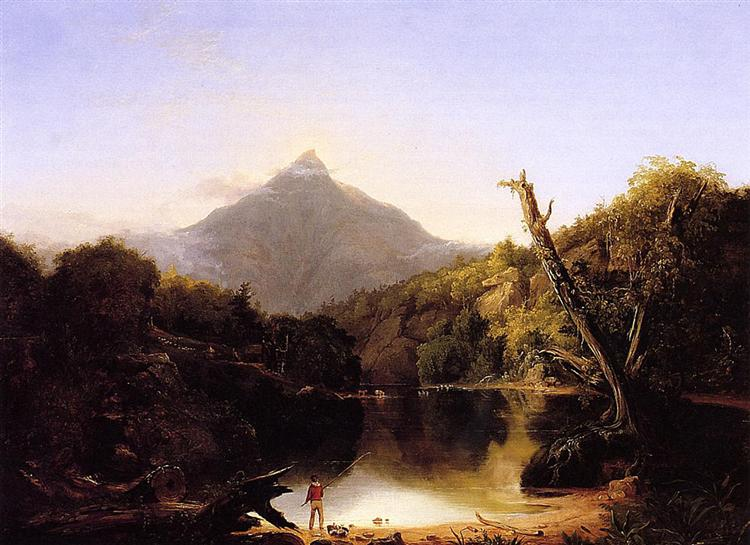 Mount Chocorua, New Hampshire, 1827 - Thomas Cole