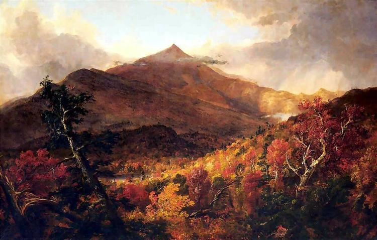 Schroon Mountain, Adirondacks - Thomas Cole