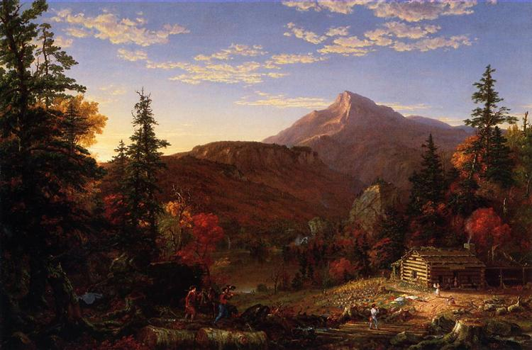 The Hunter s Return, 1845 - Thomas Cole
