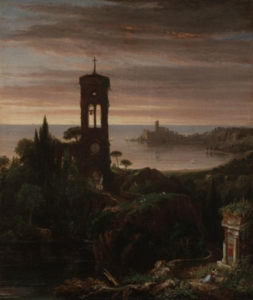 The Vesper Hymn - Thomas Cole