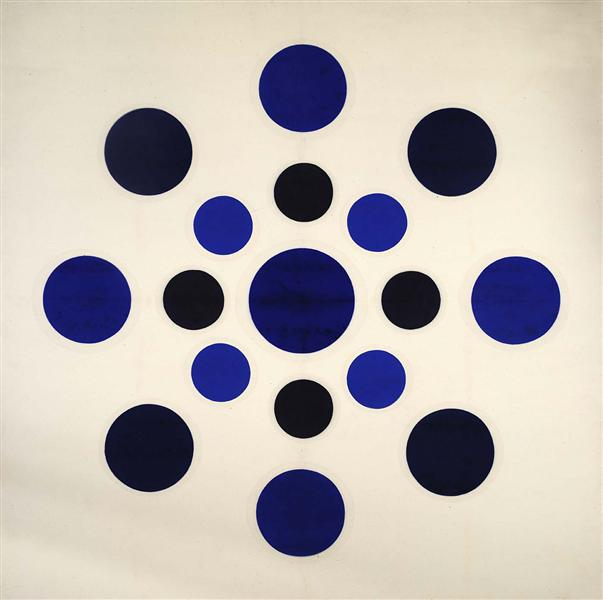 On Blue, 1963 - Thomas Downing