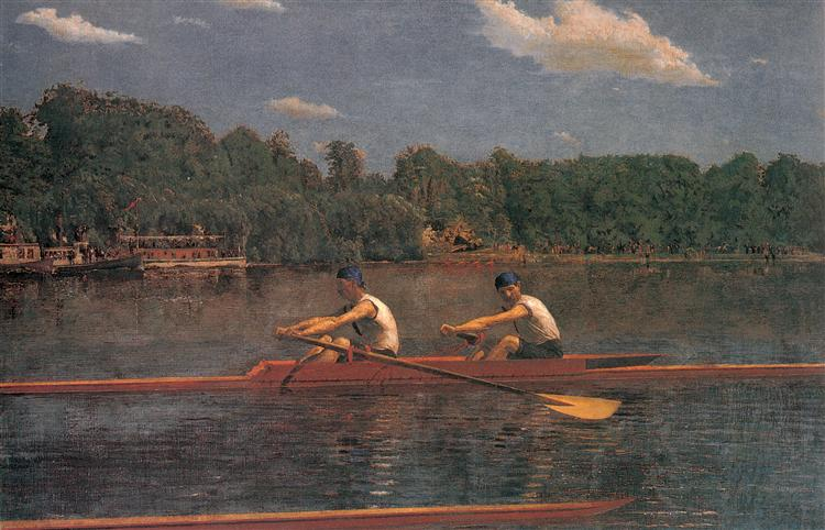 The Biglin Brothers Racing, 1873 - Thomas Eakins