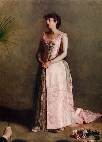 The Concert Singer - Thomas Eakins