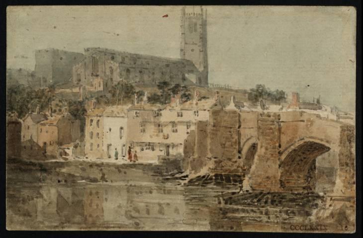 Lancaster Church and Bridge, 1797 - Thomas Girtin