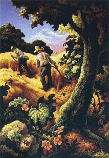 July Hay, 1942 - Thomas Hart Benton