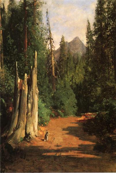 Black Butte, Mount Shasta - Thomas Hill