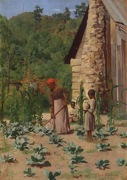Como Eles Vivem, 1879 - Thomas Pollock Anshutz