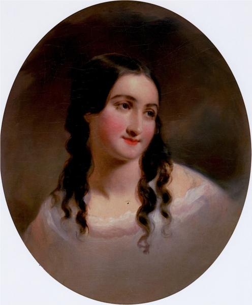 Portrait of a Woman, Sarah Byerly - Thomas Sully