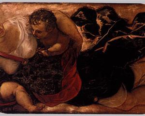 Allegory of the Scuola della Carità - Tintoretto