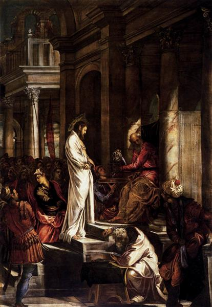 Christ before Pilate, 1566 - 1567 - Tintoretto