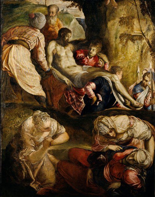 Christ Carried to the Tomb, 1565
