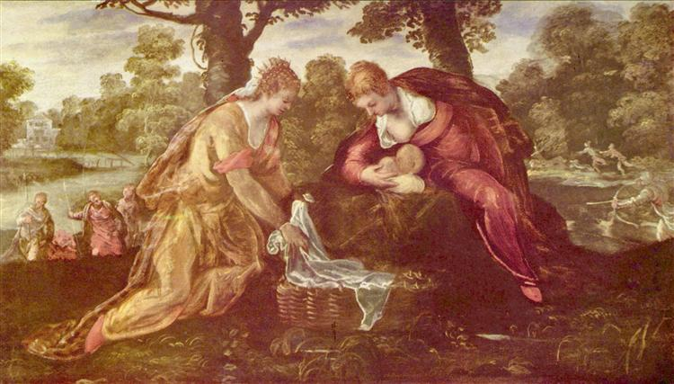Finding of Moses - Tintoretto