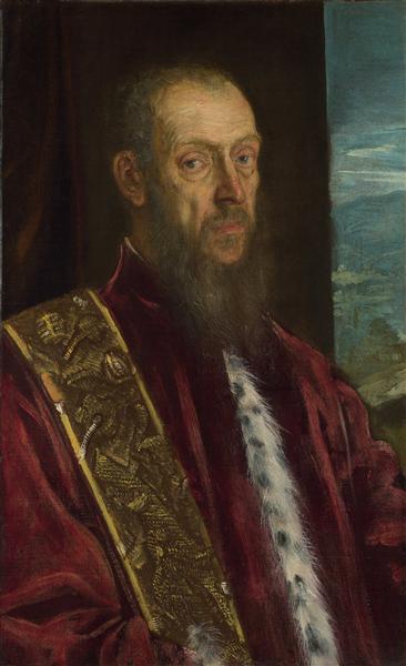 Portrait of Vincenzo Morosini, 1580 - Tintoretto