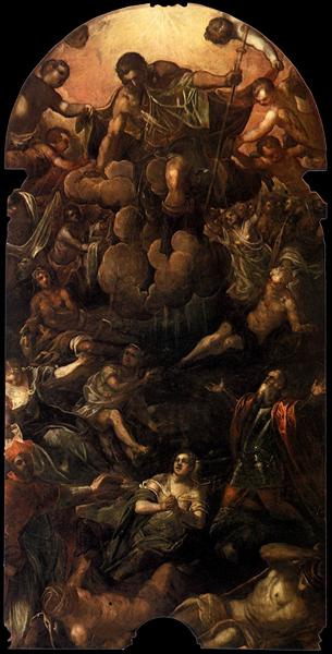 The Apparition of St Roch, c.1588 - Тинторетто