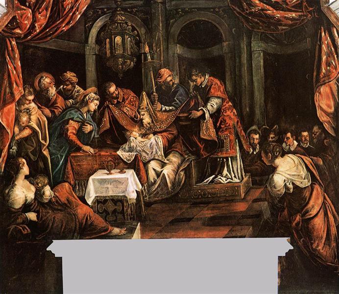 The Circumcision, c.1587 - Tintoretto
