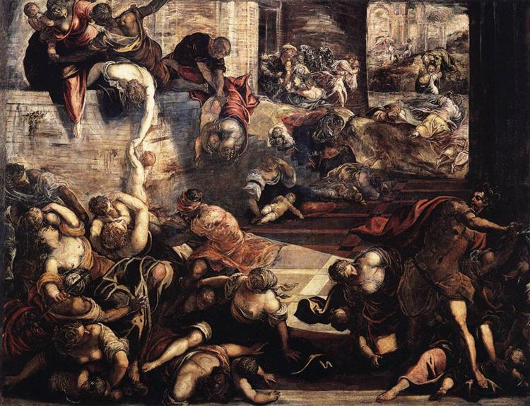 The Massacre of the Innocents, 1582 - 1587 - Tintoretto