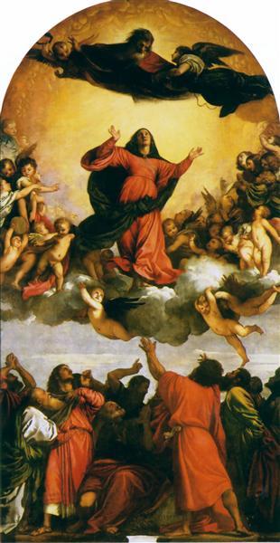 Assumption of the Virgin, 1516 - 1518 - Titian