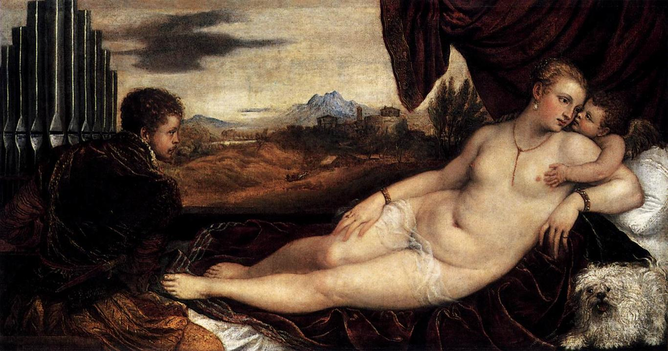 http://uploads7.wikipaintings.org/images/titian/venus-and-cupid-with-an-organist-1549.jpg!HalfHD.jpg