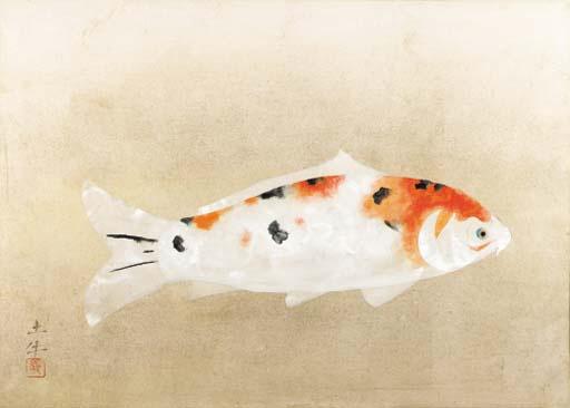 Higoi (Red carp) - Okumura Togyu