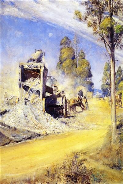 Country Road Makers 1923 - Tom Roberts