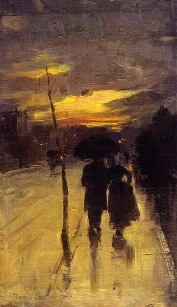Going Home, 1889 - Tom Roberts