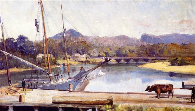 Ulverstone, 1899 - Tom Roberts